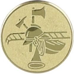 Emblemat samoprzylepny złoty - pożarnictwo - D2-A85
