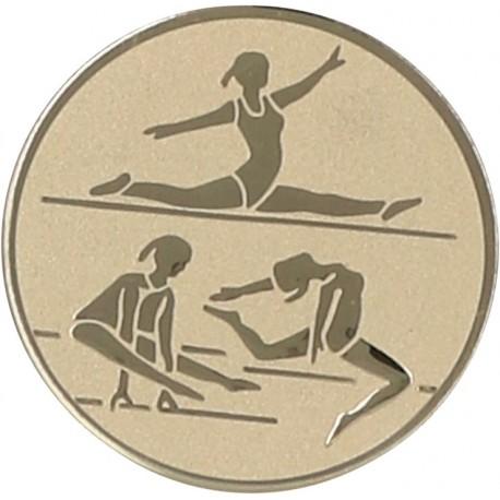 Emblemat samoprzylepny złoty - gimnastyka artystyczna - D1-A130