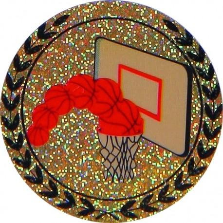 Emblemat hologramowy - koszykówka - AGM203