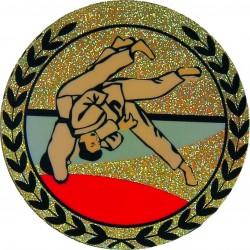 Emblemat hologramowy - judo - AGM125