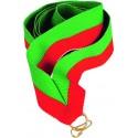 """Wstążka do medalu - """"Zielono-czerwona"""" 22 mm - V2-GN/R"""