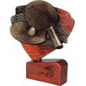 Figurka odlewana - Tenis stołowy- RFEL5011/B/BR
