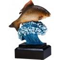 Figurka odlewana - Wędkarstwo - RFST2092