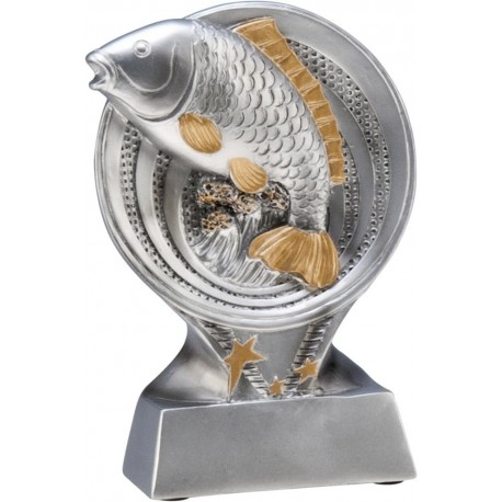 Figurka odlewana - Wędkarstwo - RS1101