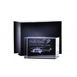 Trofeum szklane z etui KR5080