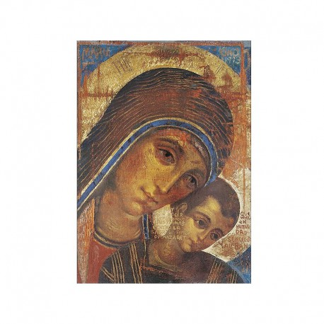 Ikona - Matka Boża Neoktechumenalna - Kiko